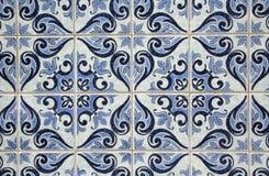 Traditionele Portugese azulejos Royalty-vrije Stock Afbeeldingen