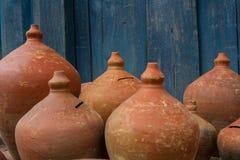 Traditionele producten van rode klei royalty-vrije stock afbeeldingen