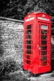 Traditionele rode telefooncel in het UK Royalty-vrije Stock Fotografie