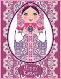 Traditionele Russische matryoshka (matrioshka) poppen Stock Foto