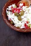 Traditionele salade Royalty-vrije Stock Afbeelding