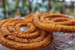 Traditionele savoury van India royalty-vrije stock afbeeldingen