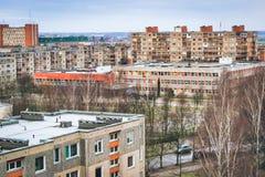 Traditionele scholen in Litouwen, Baltische landen stock foto