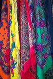 Traditionele sjaals, Zakopane, Polen Stock Afbeelding