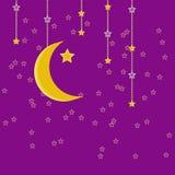 Traditionele slinger van Ramadan Kareem Royalty-vrije Stock Afbeeldingen