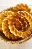 Traditionele Sloveense gebakken broodjes royalty-vrije stock fotografie