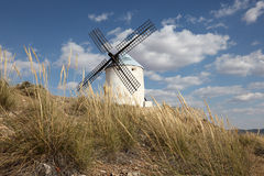 Traditionele Spaanse windmolen Stock Fotografie