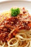 Traditionele Spaghetti royalty-vrije stock foto's
