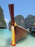 Traditionele Thaise boot Stock Afbeelding