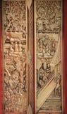 Traditionele Thaise gravure stock fotografie