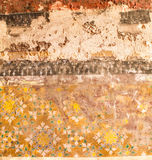 Traditionele Thaise kunst van het schilderen Stock Afbeelding