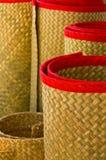 Traditionele Thaise matten Stock Foto's