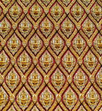 Traditionele Thaise stijlachtergrond Stock Afbeeldingen