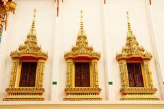 Traditionele Thaise stijlarchitectuur Stock Foto