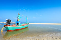 Traditionele Thaise vissersboten Royalty-vrije Stock Foto