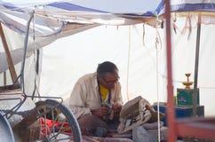 Traditionele Tibetaanse graveur Stock Afbeelding