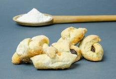 Traditionele toenemende broodjes Royalty-vrije Stock Afbeelding
