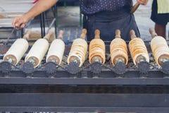Traditionele transylvanian cakes Stock Foto
