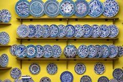 Traditionele Turkse geschilderde keramiek Royalty-vrije Stock Afbeeldingen