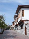 Traditionele Turkse Huizen Royalty-vrije Stock Afbeeldingen