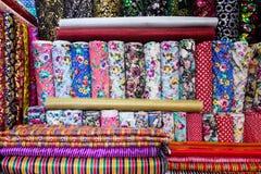 Traditionele Turkse stoffen, achtergrond Royalty-vrije Stock Foto