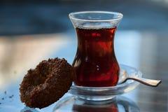 Traditionele Turkse Thee Royalty-vrije Stock Afbeeldingen