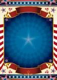 Traditionele V.S.- afficheachtergrond Royalty-vrije Stock Foto