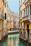 Traditionele Venetiaanse gebouwen Royalty-vrije Stock Afbeeldingen
