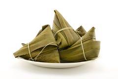 Traditionele verpakte rijstbollen Stock Foto