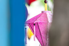 Traditionele Vietnamese herinnering - lantaarn. Royalty-vrije Stock Fotografie