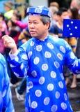 Traditionele Vietnamese kleding Royalty-vrije Stock Fotografie