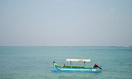 Traditionele Vissersboot Stock Afbeeldingen