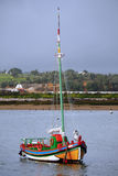 Traditionele Vissersboot Stock Foto's