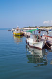 Traditionele vissersboot in Griekenland Royalty-vrije Stock Foto