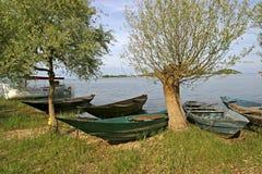Traditionele vissersboten royalty-vrije stock fotografie