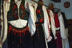 Traditionele volkskostuums Stock Afbeelding