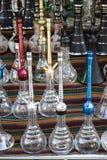Traditionele waterpijpmachines stock fotografie