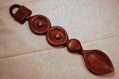 Traditionele Welse Liefdelepel Stock Foto's