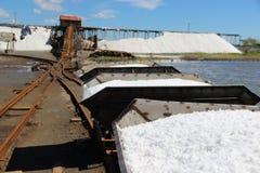 Traditionele zoute productie Royalty-vrije Stock Foto's