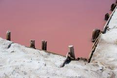 Traditionele zoute productie Stock Afbeeldingen