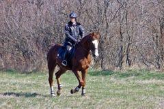 Theodores dag (hästpåsken) Arkivfoto