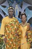 traditionell afrikansk klänning Arkivfoto