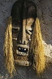 traditionell afrikansk maskering Royaltyfri Fotografi