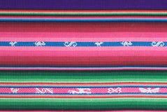 traditionell andean tapestry Royaltyfri Fotografi