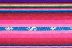 traditionell andean tapestry Arkivbilder