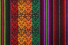 traditionell andean tapestry Royaltyfri Foto