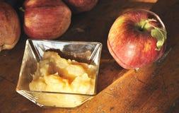 traditionell applesauce fotografering för bildbyråer