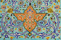 traditionell arabisk garnering arkivfoto