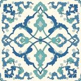 Traditionell arabisk prydnad som är sömlös för din design Skrivbords- tapet Bakgrund Iznik vektor illustrationer