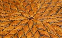 traditionell baklava arkivfoton